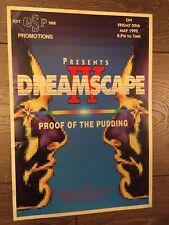 dreamscape Rave Flyer