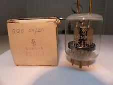 1x NEW QQE03/20 = RS1019 = 6252 Siemens NOS NEW RÖHRE Tube Valvola