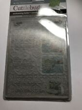 Provo Craft Cuttlebug Embossing Folder 37-1153 - Textile