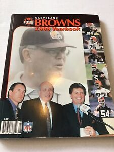 NFL Cleveland Browns Football 1999 Yearbook Tim Couch