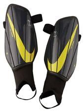 Nike Charge 2.0 Soccer Shin Guards Black-Yellow Size Medium Brand New