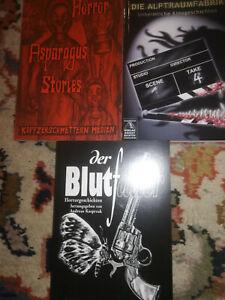 Kleines Horror Literatur Paket
