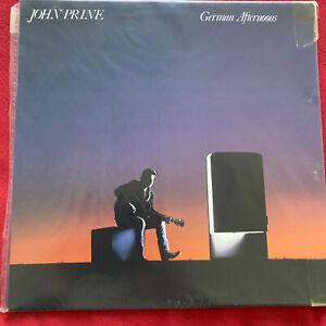 """John Prine 12""""LP German Afternoons Demon Records Fiend 103 EX + Lyric Sleeve1987"""