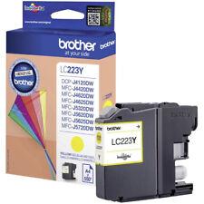 Cartucho de tinta Brother LC223Y amarillo
