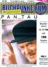 Blickpunkt Film Nr. 39 1988 13. Jahrg. Pan Tau Kino Fernsehen
