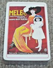 Meli & Ci - Napoli - Sealed Vintage Pack of Playing Cards
