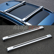 2pcs Alloy Roof Rack Cargo Carrier Cross Bar For Jeep Liberty 2004-2008 Silver