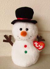 Ty Beanie Babies Twigs the Snowman Original Plush Birthday December 1, 2011