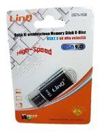 Pendrive Pen Drive Penna USB 2.0 Chiavetta Memoria 16GB Linq Us215-16gb