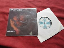 "BRUCE WILLIS Save the last dance for me RARE 7"" +POSTER POP MOTOWN"