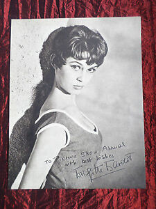"""BRIGITTE BARDOT - FILM STAR - 1 PAGE PICTURE -"""" CLIPPING / CUTTING"""" -#2"""