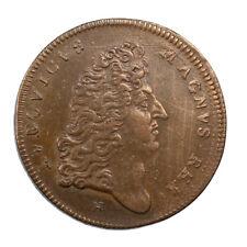Jeton Louis XIV Valenciennes Prise de Condé sur l'Escaut Après 1676