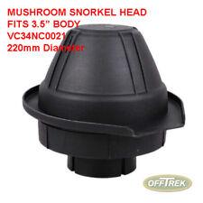 "LANDROVER / OFF ROAD 4x4 to fit: 3.5"" BODY Snorkel Head MUSHROOM - VC34NC0021"