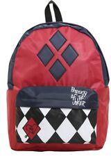 DC Comics Suicide Squad Harley Quinn Property Of The Joker Backpack Book Bag