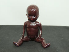 Black Jointed Doll with Movable Parts arms and legs moveable (15476)