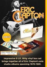 ERIC CLAPTON  STUDIO ALBUM COLLECTION 1970-1981 9 LP, 8 ALBUM, 180G. Ltd.Edition