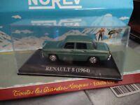 IXO 1/43 RENAULT 8 DE 1964 NEUF EN BOITE