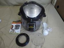 New listing Wolfgang Puck Bistro 7-Quart/Qt Pressure Cooker - Black/Silver (Never Used)