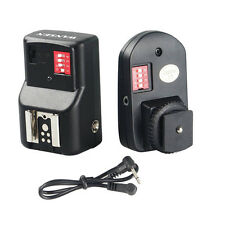 16 Channels FM Radio Wireless Remote Speedlite Flash Trigger For Canon / Nikon