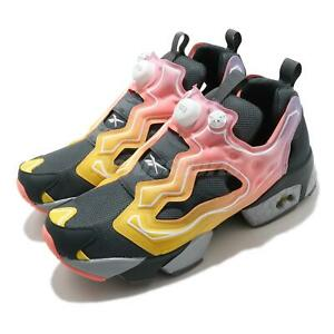 Reebok Instapump Fury OG GLITCH PACK Grey Yellow Pink Men Casual Shoes FY9332