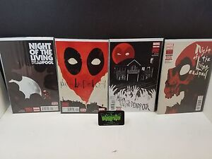 Night Of The Living Deadpool #1,2,3,4 NM 1st prints full set Marvel Comics