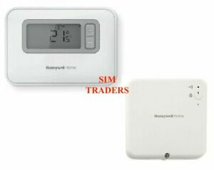 Honeywell T3R Wireless 7 Days Programmable Room Thermostat & Receiver BOILERPLUS