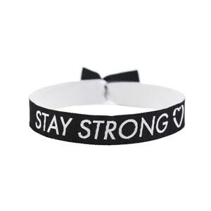 Stay Strong Armband Festival Bändchen Bleib Stark Mental Health matters