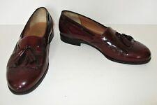 Salvatore Ferragamo Tassel Loafers Shoes 7 1/2 2E Men cordovan leather
