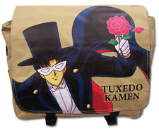 **License Bag** Sailor Moon Tuxedo Kamen Fabric Messenger Backpack #81104