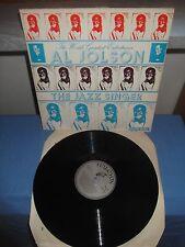 "Al Jolson ""The Jazz Singer"" LP HALCYON UK 1985"