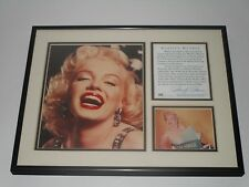 OSP Publishing 1995 Marilyn Monroe Framed & Matted Photos Plaque RARE
