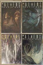 ALIENS EARTH WAR  #1-4, COMPLETE SET, 1990 NM Dark Horse Comics