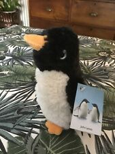 """JOHN LEWIS MABEL SMALL 8"""" PENGUIN PLUSH SOFT TOY TAGGED"""