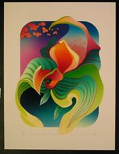 """Original Serigraph by Marcel """"As the Clouds Drift"""""""