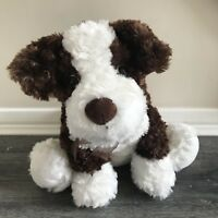 The Cuddle Crew Season 3 III Brown & White Soft Dog Puppy Hound Plush Toy Asda