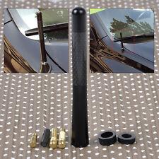 """4.7"""" Universal Aluminum Carbon Fiber Aerial Antenna Car AM/FM Radio w/Screw"""