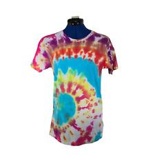 Urban Outfitters Damen purple Dye T-Shirt Kurzarm Shirt Größe UK LARGE L (14)