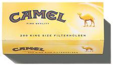 2000 (10x200) Camel (Hülsen, Filterhülsen, Zigarettenhülsen)