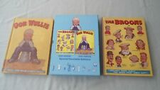 THE BROONS 1939 ANNUAL & OOR WULLIE 1940 ANNUAL 2008 FACSIMILE SET DC THOMSON