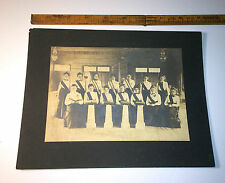 Old Antique Cabinet Photo of Graduating Class? Women's Organization? Political?