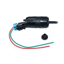 Windshield Washer Pump & Connector For GMC Buick Century Cadillac Chevrolet
