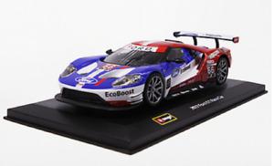 Bburago 1:32 2017 Ford GT Race NO.66 Daytona Diecast Model Racing Car NEW IN BOX