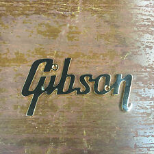 Gibson Logo Plate LARGE GOLD