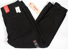 Levi's Drawstring Jogger stretch Jeans-L- NEW -BLACK Levis Denim sport pants-34-