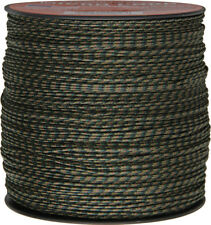Parachute Cord Micro Cord Woodland 1.18mm x 1,000 ft. Braided premium nylon spor