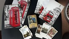 Stationery bundle London England penpalling paperchase writing stickers