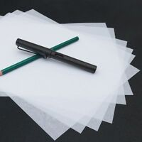 100pcs Transparent Copying Paper Tracing Paper Writing Calligraphy Copying Paper