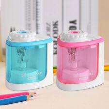 Electric Automatic Pencil Sharpener Mechanical 2 Modes Desktop Kids School Home
