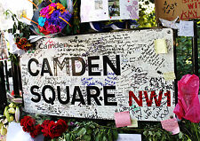 Amy Winehouse Poster Camden Square Tribute Quality Large FREE P+P CHOOSE UR SIZE