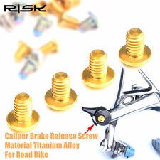 2pcs Titanium Road Bike Caliper Brake Release Screw Bolt UT6800DA9000DA9010